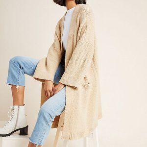 Anthropologie Riley Longline Cardigan Sweater L